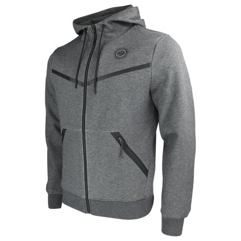 NINJA WARRIOR FREERUN hooded parkour sweat jacket dark gray