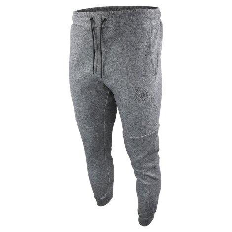 NINJA WARRIOR FREERUN Parkour Trainingshose dunkel grau melange mit tiefen zipper Seitentaschen!