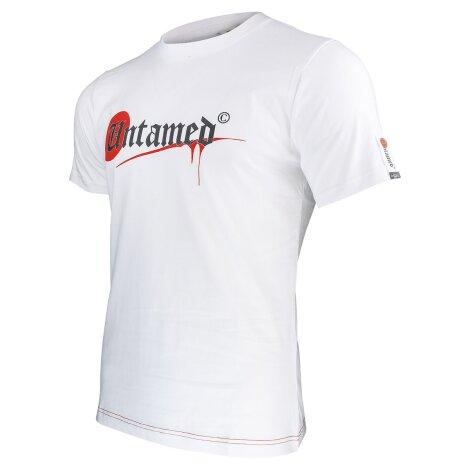 Camiseta PARKOUR Logo UNTAMED blanca