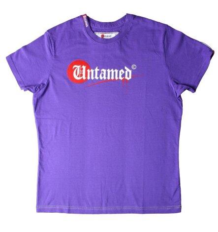 UNTAMED PARKOUR Logo Signature T-Shirt purple!