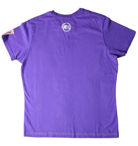 Camiseta PARKOUR Logo UNTAMED purpura