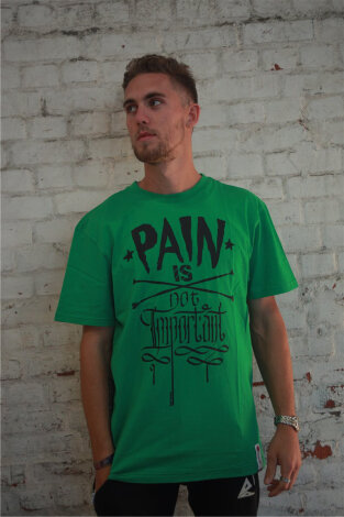 PAIN IS NOT IMPORTANT Parkour Life T-Shirts in diverse colorways!