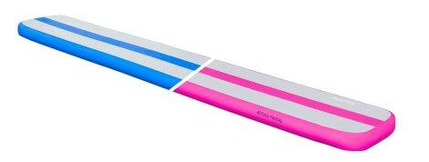 AirBeam Luftschwebebalken 5m x 0.4m - blau und pink!