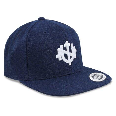 UNTAMED Classic Wool Cap navy blau
