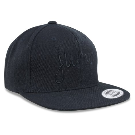 KO Cap JUMP black on black snapback!