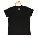 UNTAMED Logo T-Shirt schwarz medium