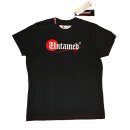 UNTAMED Logo T-Shirt schwarz small