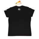 UNTAMED Logo T-Shirt schwarz small