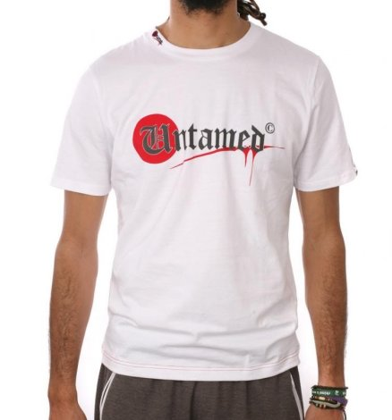Camiseta PARKOUR Logo UNTAMED XL blanca