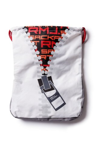 Mochila de saco Zipup bolsa de deporte mínima